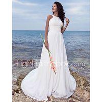 corte en a joya larga raso vestido de novia con en cortina fruncido por lan ting bride