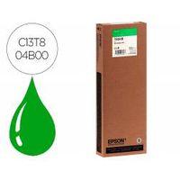 ink-jet epson gf surecolor serie sc-p verde ultrachrome hdxhd 700ml