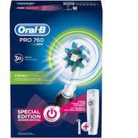 oral-b pro 760 adulto cepillo dental oscilante negro