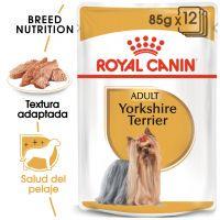 royal canin breed yorkshire terrier adult en sobres - 24 x 85 g - pack ahorro