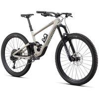 specialized bicicleta mtb enduro elite 29 carbono s gloss white mountains  satin carbon  sage