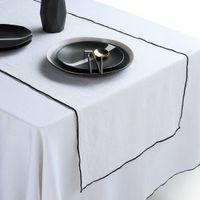 camino de mesa de lino lavado taraka