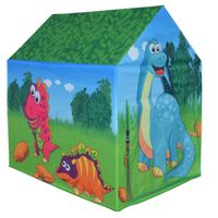 knorr toys play tent dinosaur house green