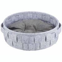 trixie cama para perros lennie gris 41 cm 38391