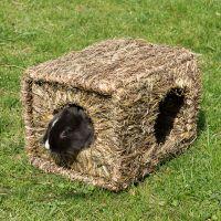 casa para roedores de heno xl - 37 x 30 x 28 cm lxanxal