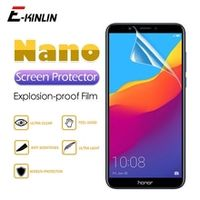 2pcs hd clear screen protector display soft nano anti explosion protective film for huawei honor 8x max 8c 8a 8s 7s 7a 7c pro