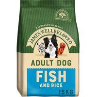 james wellbeloved adult  - fish  rice - 15kg