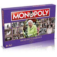 monopoly board game - hm queen elizabeth ii edition
