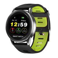 spovanvenus122tftpantallaip67 impermeable reloj inteligente corazon tasa monitor podometro 3d aptitud pulsera de