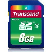 transcend ts8gsdhc4 8gb sdhc memoria flash