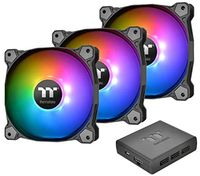 thermaltake pure plus - radiator fan tt premium edition color negro