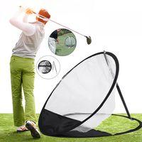 52cm golf mat pitching cage jaulas de entrenamiento de practica en interiores herramientas golf training net red pitchin