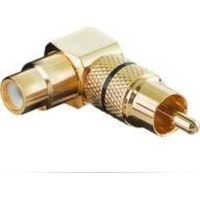 microconnect audcca adaptador de cable rca oro