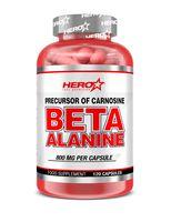 hero tech nutrition beta-alanine 120 caps