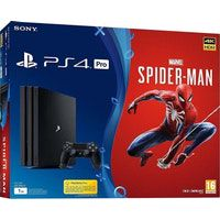 sony consola ps4 pro 1tb  marvels spiderman