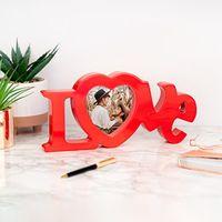 marco de foto por san valentin personalizado