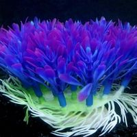 plastico artificial planta agua hierba pecera acuario ornamento decoraciones nuevo