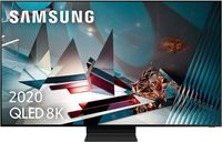 tv qled 8k samsung qe82q800t - full array premium smart tv ia hdr2000 ots 8k processor