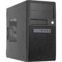 ct-04b-op carcasa de ordenador mini tower negro cajas de torre