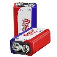 rydbatt 9v 500mah recargable lipo bateria