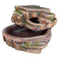 trixie cueva para serpientes 26x20x13 cm resina de poliester 76199
