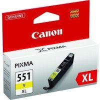 canon cli-551xl y amarillo cartucho de tinta