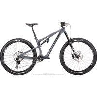 bicicleta de carbono nukeproof reactor 290 elite slx 2021 - bullet grey - m bullet grey