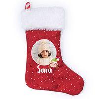 calcetin de navidad con nombre