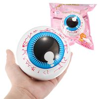 10 cm squishy eye color aleatorio sterss ball slow rising toy con embalaje