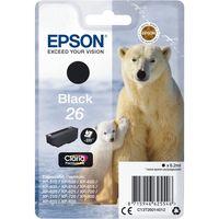 polar bear cartucho 26 negro tinta