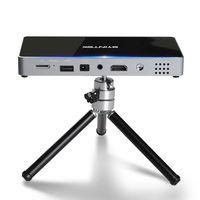 byintekufop10android712dlp proyector 200 lumenes ansi full hd1080p max 4k portatil elegante para sistema de cine