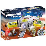 playmobil space mars space station with functioning double laser shooter 9487