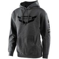 troy lee designs icon pullover  - charcoal - xl charcoal