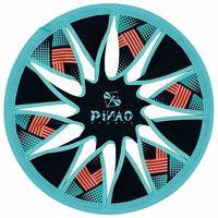 pinao sports neoprene throwing disc twist petrol