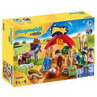 playmobil 123 christmas manger 70047
