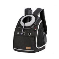 mochila oxford de tela para mascotas perro gato hombro transpirable de viaje bolsa llevar bolsa carga maxima 10  13kg