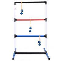 costway escalera para ninos pelota de golf de juguete de lanzamiento con rastreador de puntaje incorporado para cesped playa fiestas