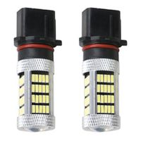 1pc p13w led replacement bulbs car fog lights daytime running lights drl lamps 12v white yellow ice blue