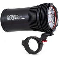 exposure six pack mk10 front light - negro negro
