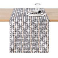 camino de mesa de algodon lavado izama