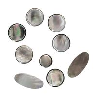 muslady 9pcs saxophone buttons shell material set of 9pcs sax key buttons for alto saxophone