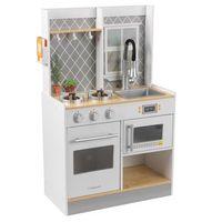 kidkraft lets cook cocinita de juguete de madera