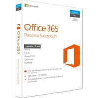 microsoft microsoft office 365 personal 1usuarios 1anos