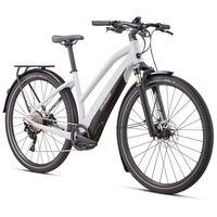 specialized bicicleta electrica turbo vado 40 step-through xl dove grey  black  liquid silver