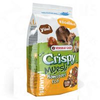 versele-laga crispy muesli para hamsteres y otros roedores - 275 kg