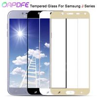 9d protective glass on for samsung galaxy j3 j5 j7 2016 2017 full cover j2 j4 j6 j8 2018 tempered screen protector glass film