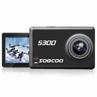 soocoo s300 hi3559v100 imx377 8g sensor 235 inch toque lcd con wifi gryo voice control microfono externo gps 12mp cmos