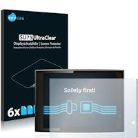 protector de pantalla para gigaset qv830 6 unidades - transparente