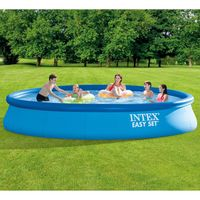 intex piscina easy set con sistema de filtro 457x84 cm