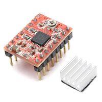 geekcreit impresora 3d a4988 reprap modulo de controlador de motor paso a paso